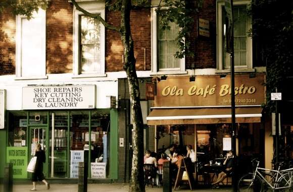 Ola Cafe Bistro wallpapers hd quality