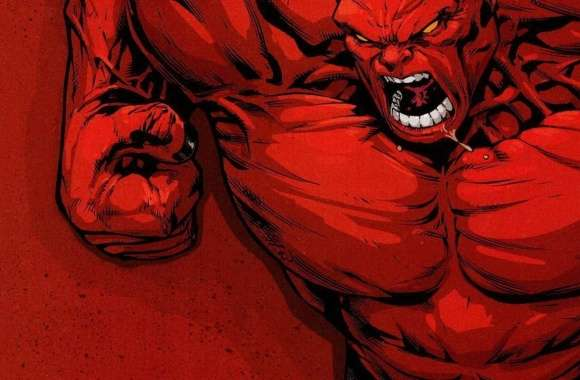 Red Hulk wallpapers hd quality