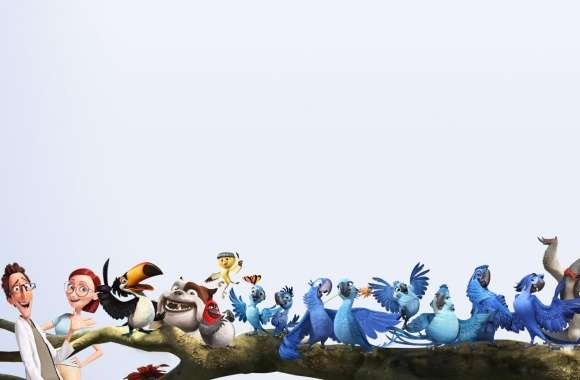Rio 2 Characters