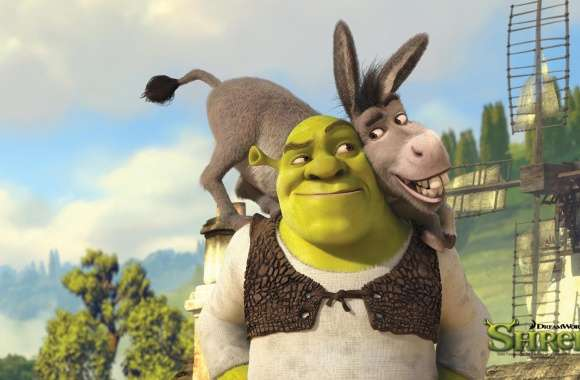 Shrek And Donkey, Shrek Forever After