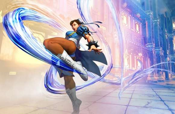 Street Fighter V Chun Li 2016 Video Game