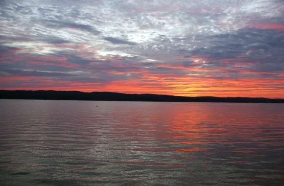 Sunrise, Portage Lake, Onekama, MI