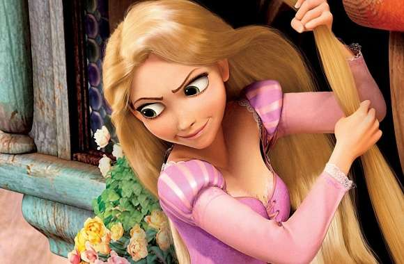 Tangled Movie  Rapunzel
