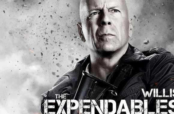 The Expendables 2 - Bruce Willis wallpapers hd quality