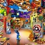 Comics Comics background