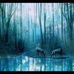 Artistic Earth image