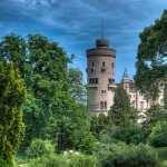 Babelsberg Palace background