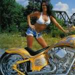 Girls and Motorcycles wallpapers for android