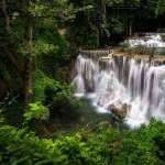 Huai Mae Kamin Waterfall wallpapers hd