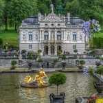 Linderhof Palace background