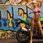 Girls and Motorcycles free