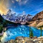 Moraine Lake high definition photo
