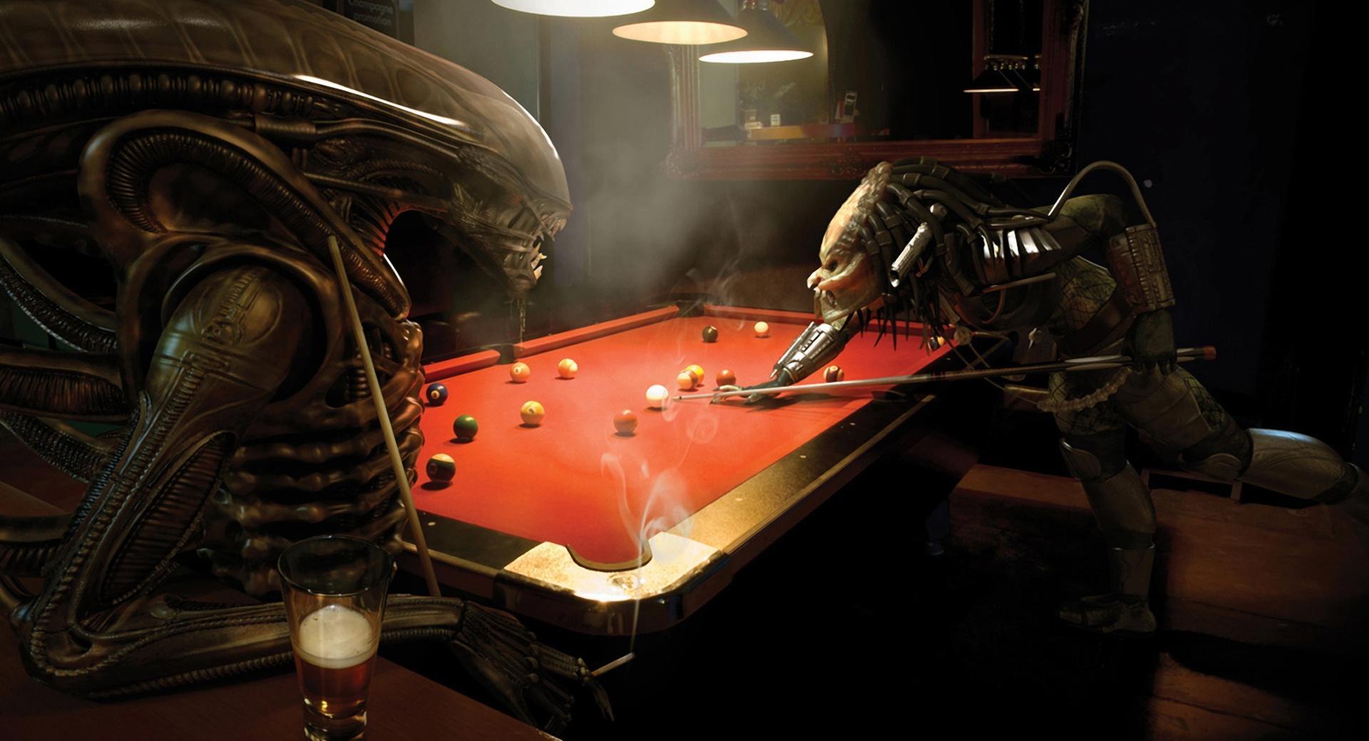Alien Vs Predator, Pool wallpapers HD quality