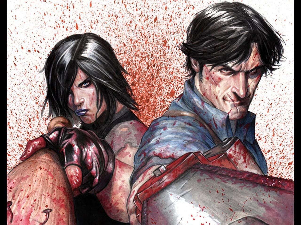 Army Of Darkness Vs. Hack Slash wallpapers HD quality