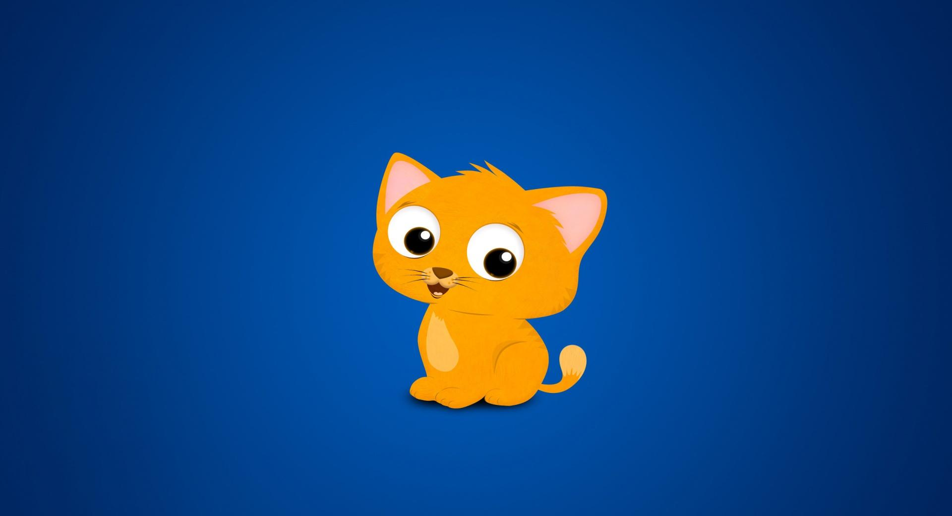 Cartoon Kitten wallpapers HD quality
