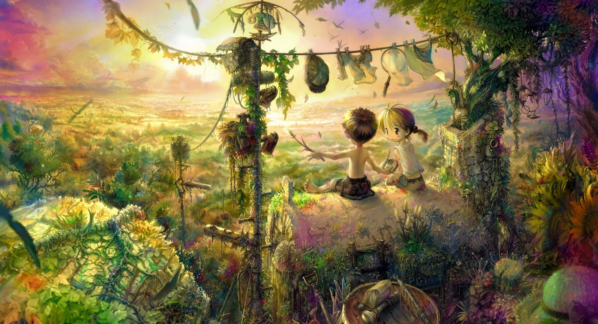 Childhood Painting wallpapers HD quality