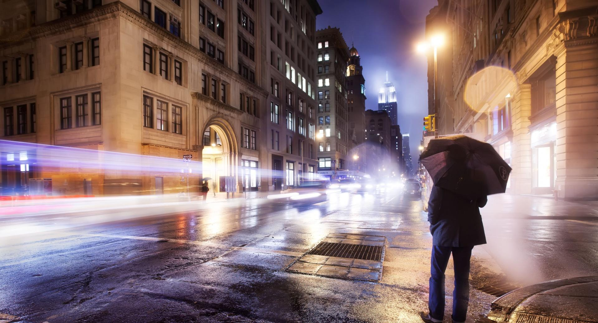 Cold Night in New York City wallpapers HD quality