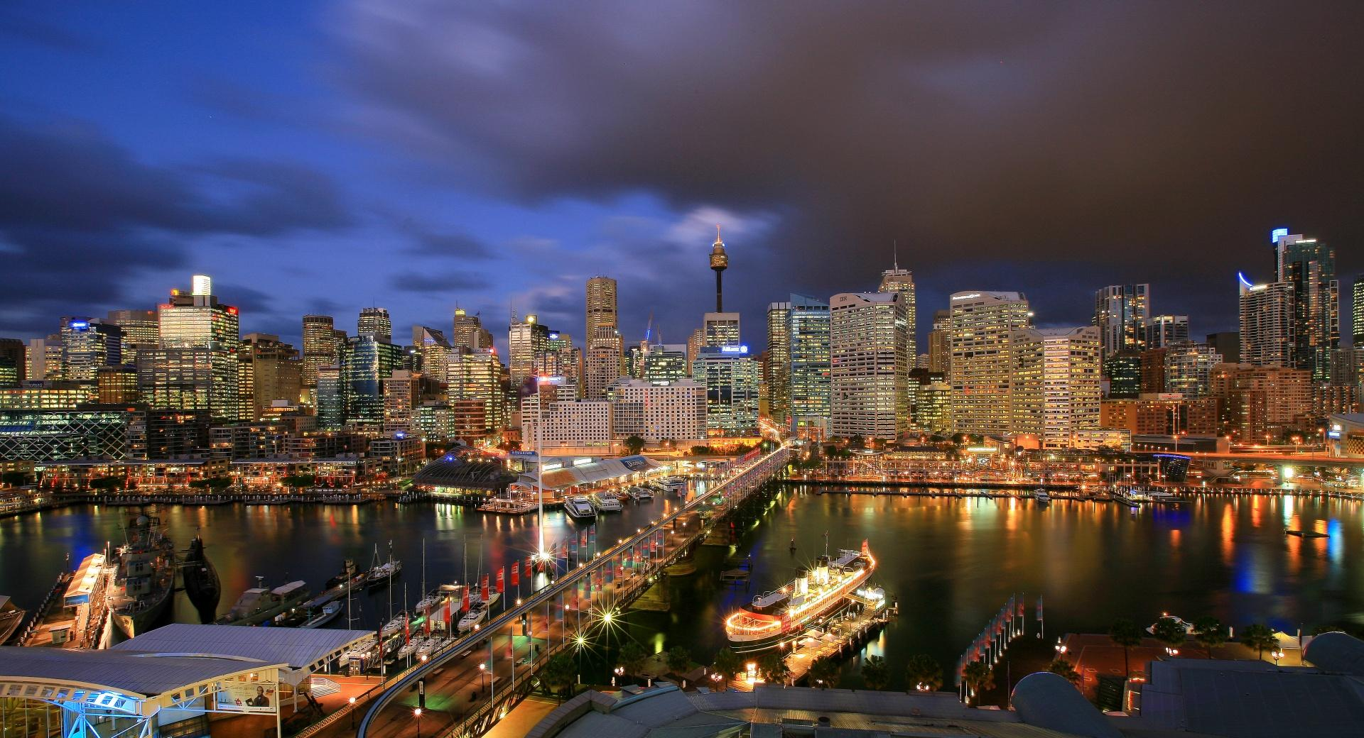 Darling Harbour-Sidney wallpapers HD quality