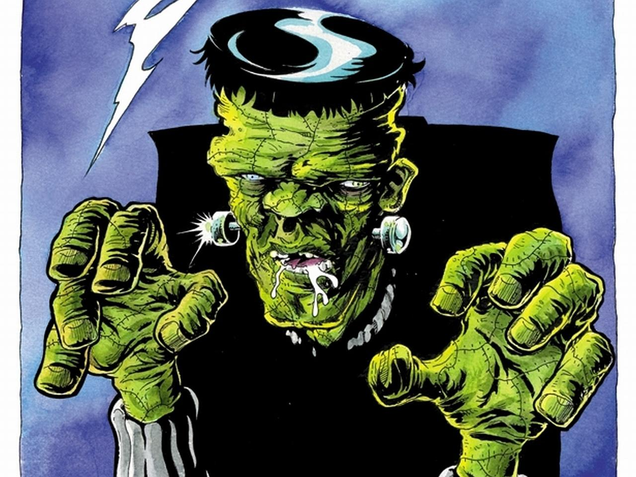 Frankenstein Comics wallpapers HD quality