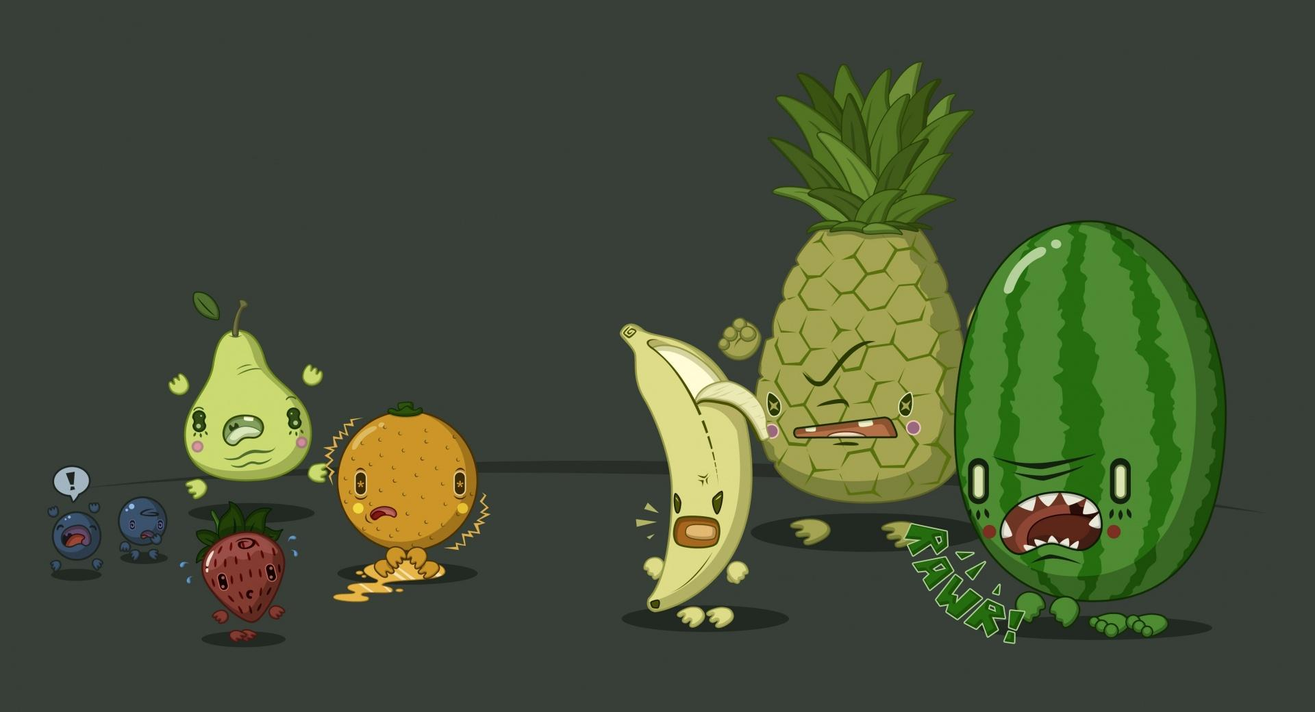 Funny Fruits wallpapers HD quality