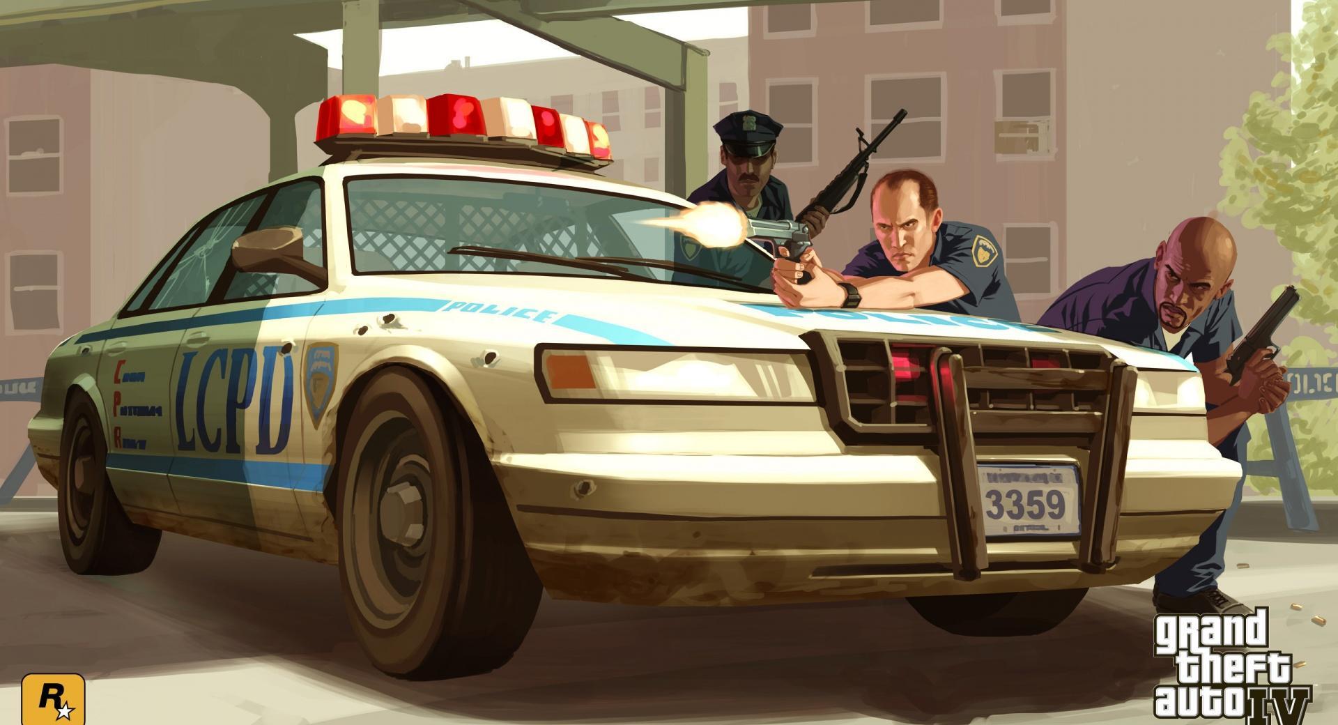 GTA 4 Cops wallpapers HD quality