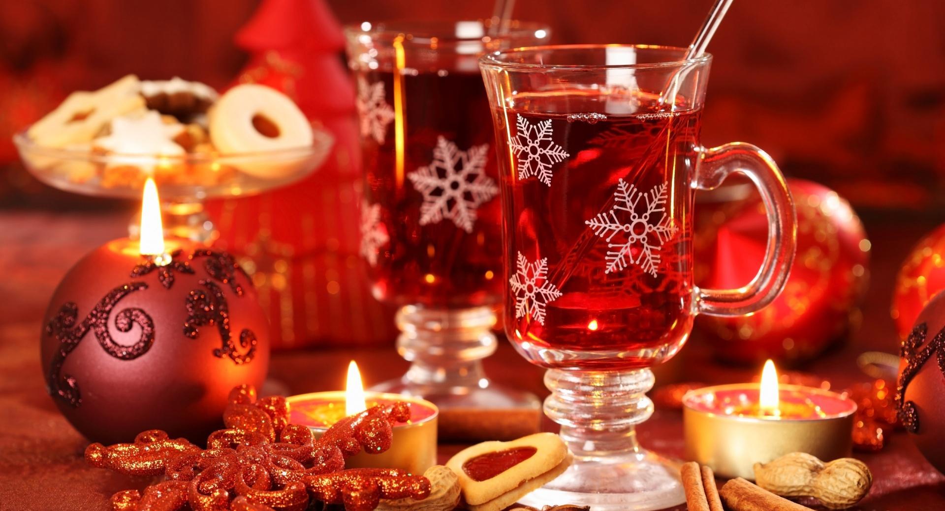 Hot Christmas Tea wallpapers HD quality