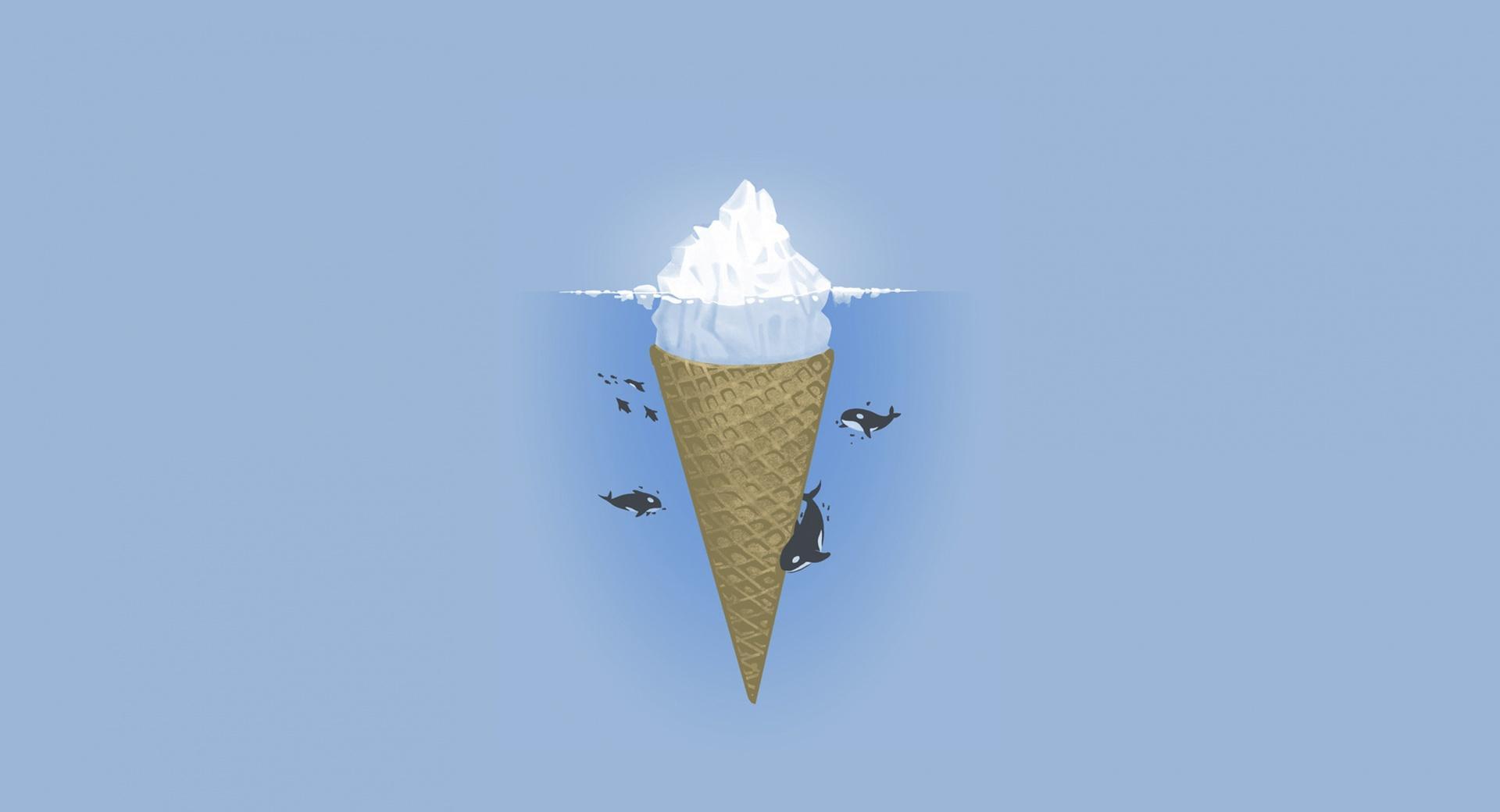 Iceberg Ice Cream wallpapers HD quality
