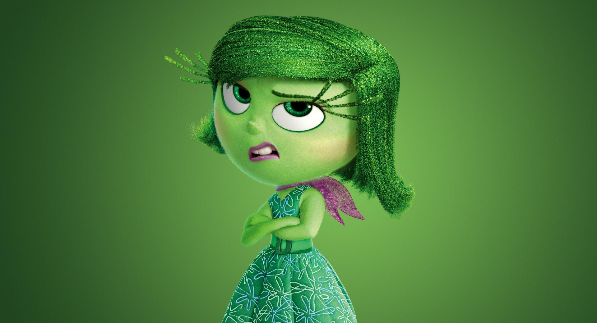 Inside Out 2015 Disgust - Disney, Pixar wallpapers HD quality