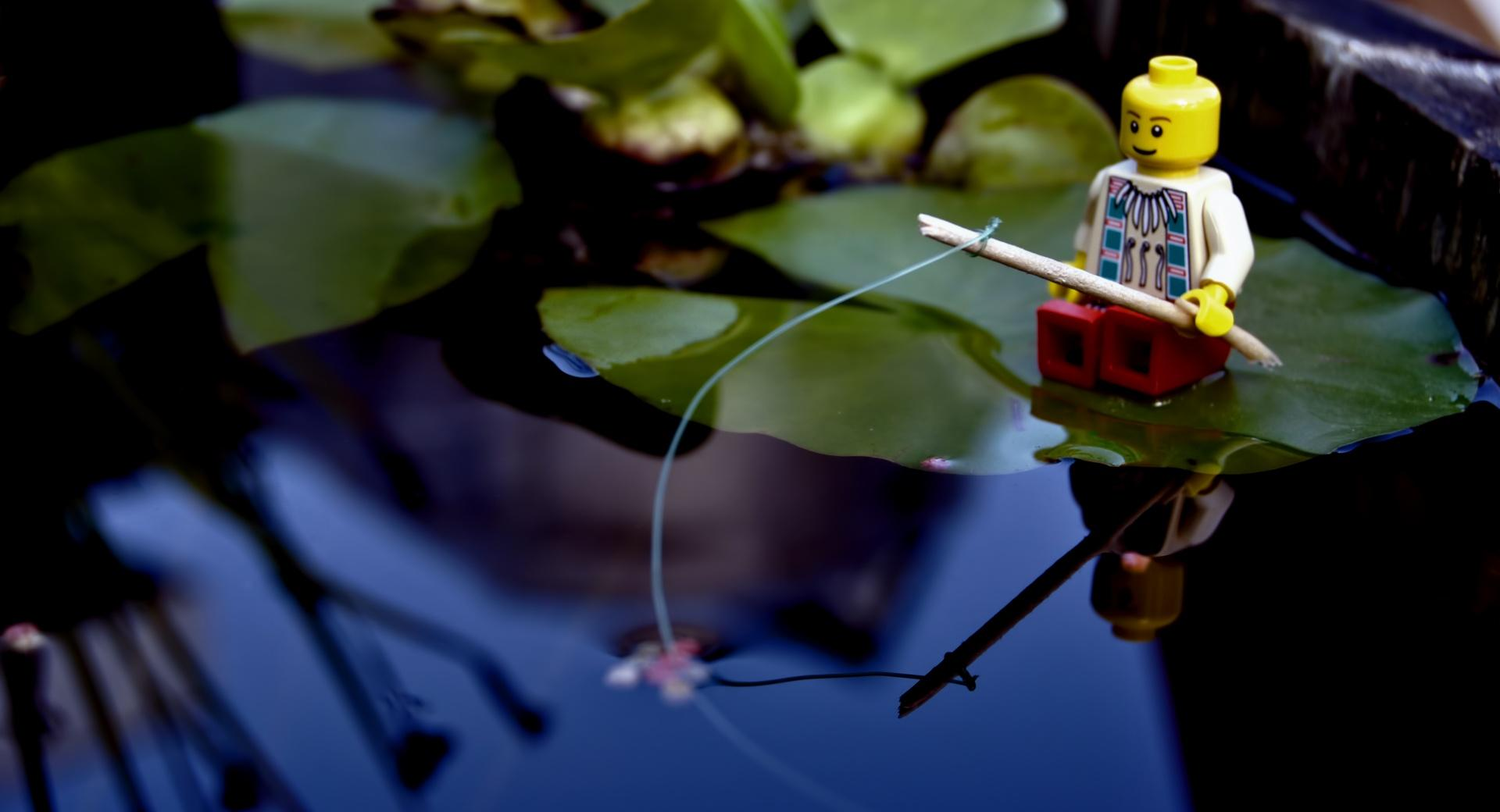 Lego Fishing wallpapers HD quality