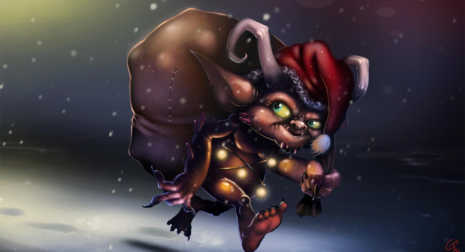 Little Christmas Prowler wallpapers HD quality