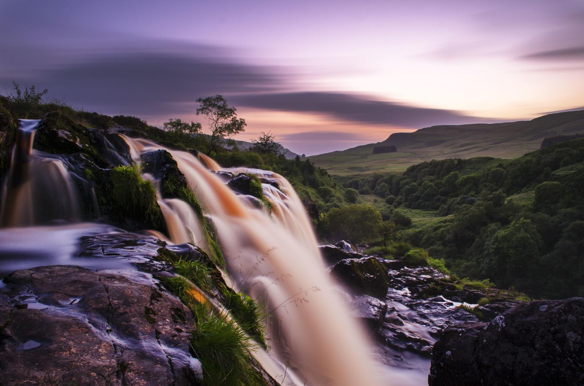 Loup Of Fintry Waterfall wallpapers HD quality