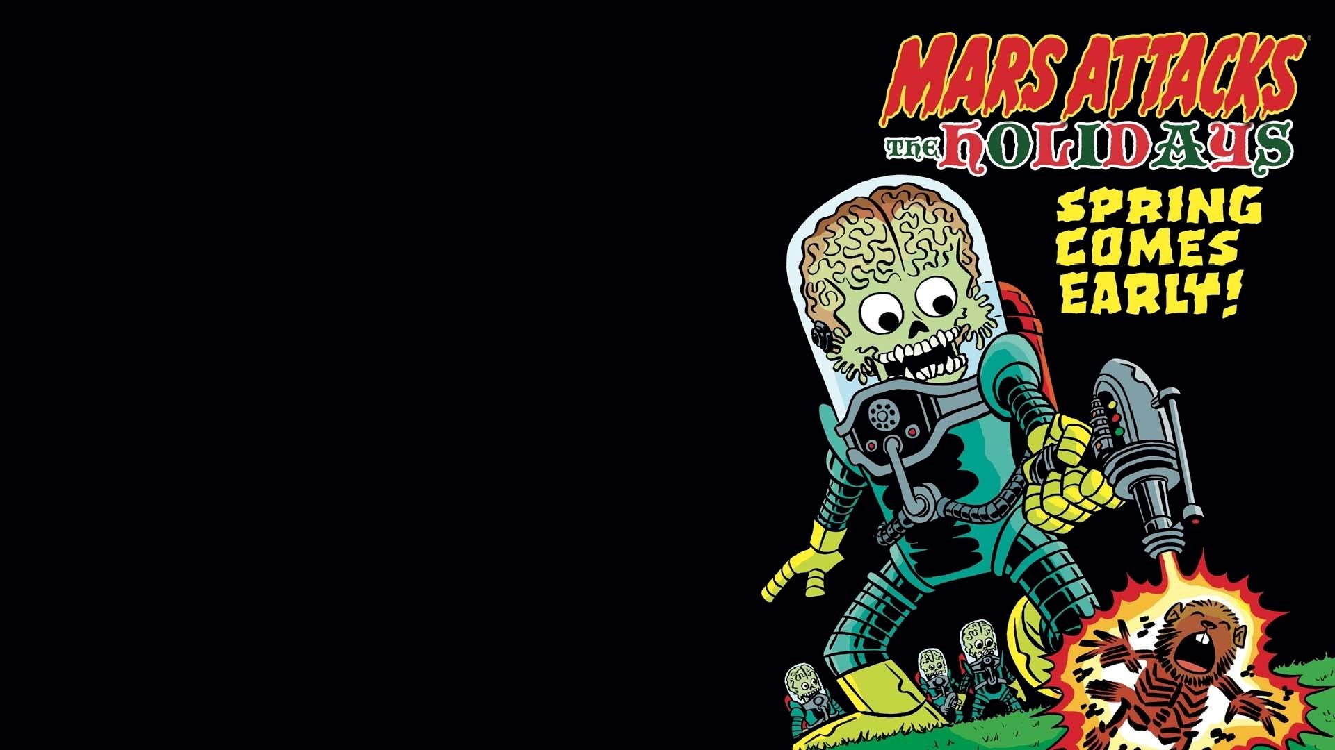 Mars Attacks wallpapers HD quality