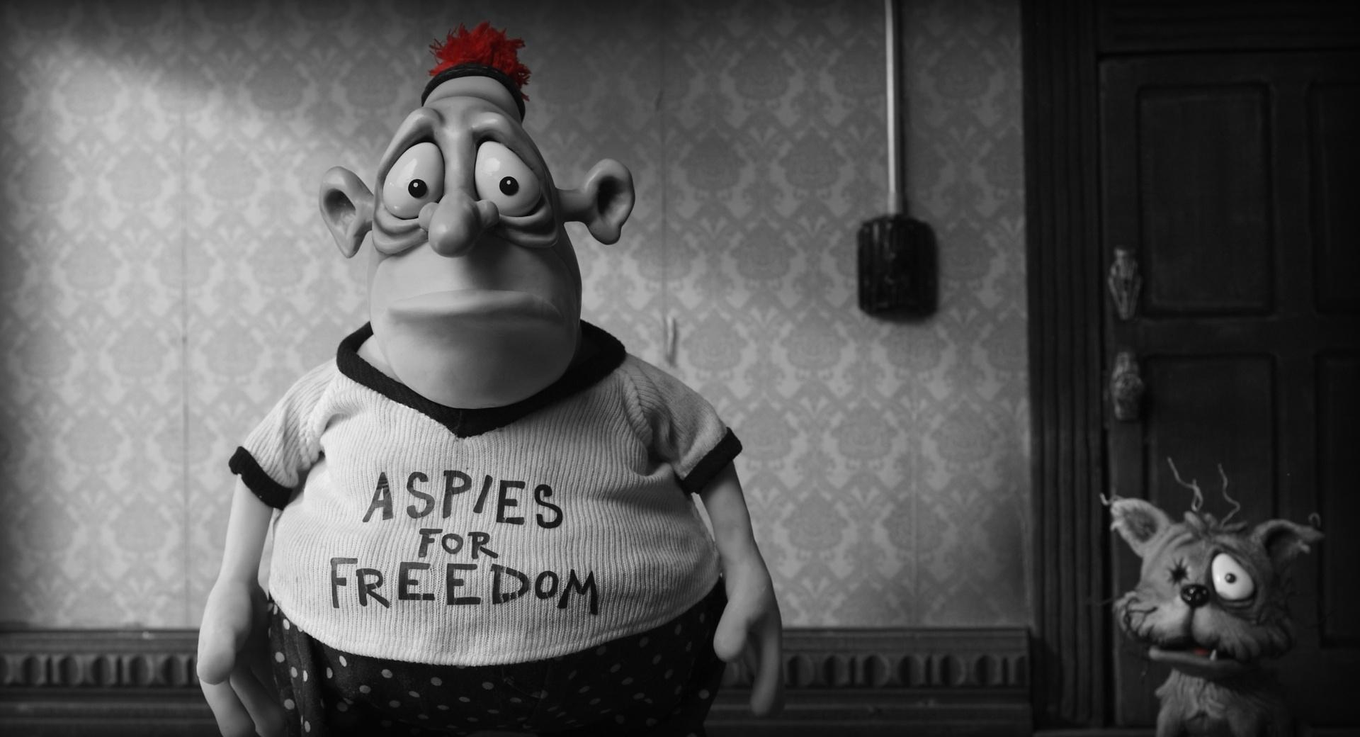 Mary And Max Plasticine at 2048 x 2048 iPad size wallpapers HD quality