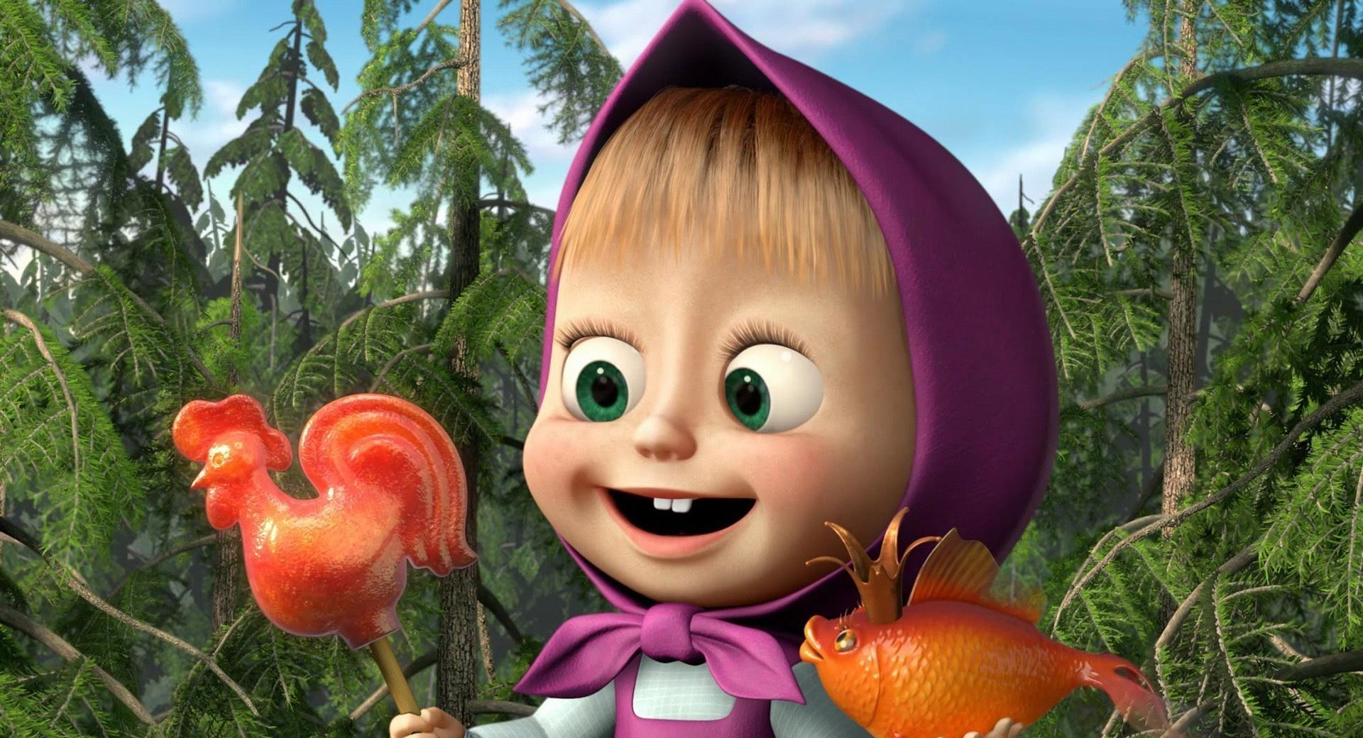 Masha And The Bear wallpapers HD quality