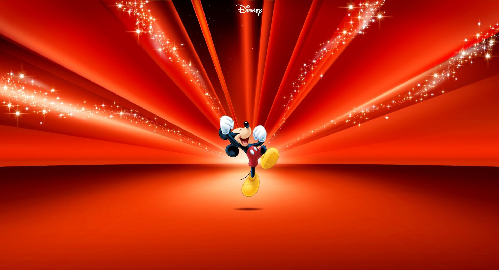 Mickey Mouse Disney Red wallpapers HD quality
