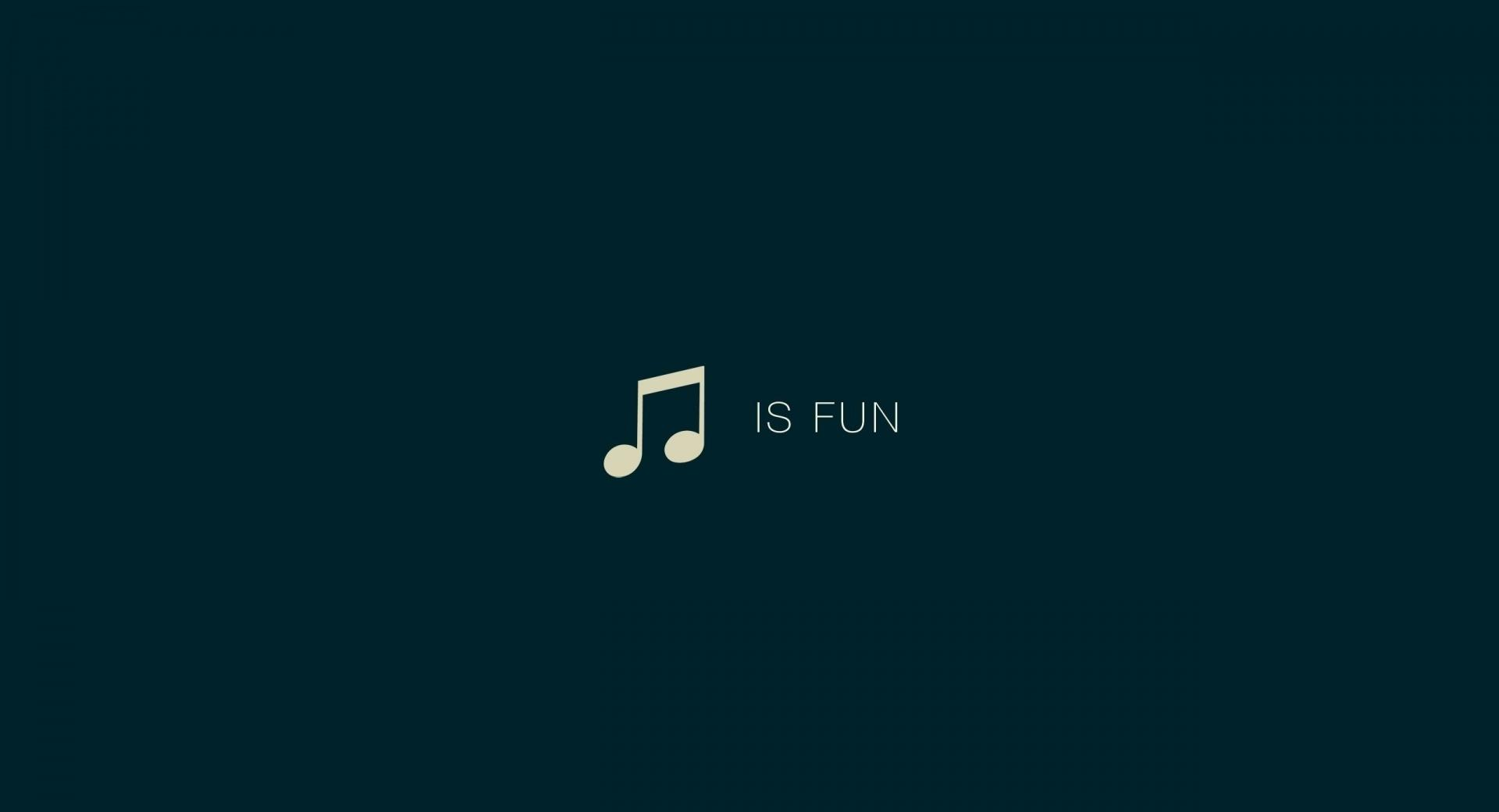 Music Is Fun at 1024 x 1024 iPad size wallpapers HD quality