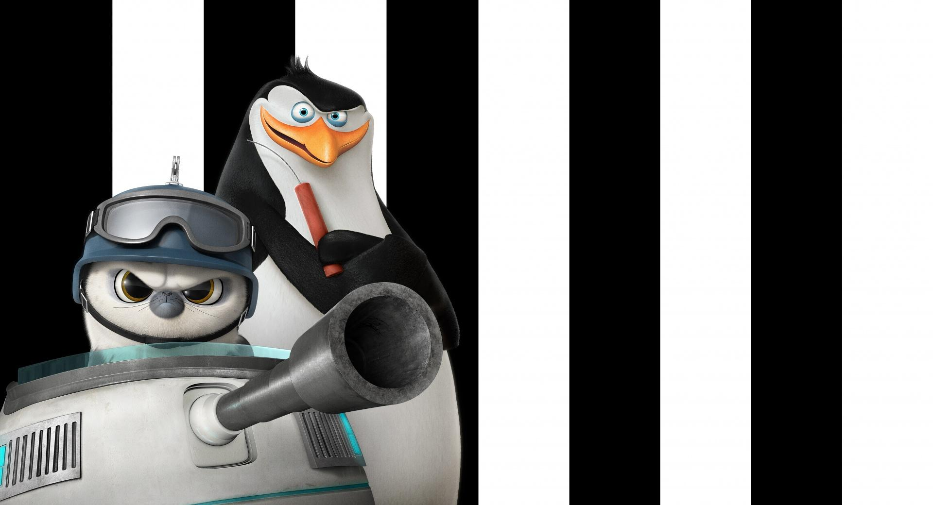 Penguins of Madagascar Rico and Short Fuse wallpapers HD quality