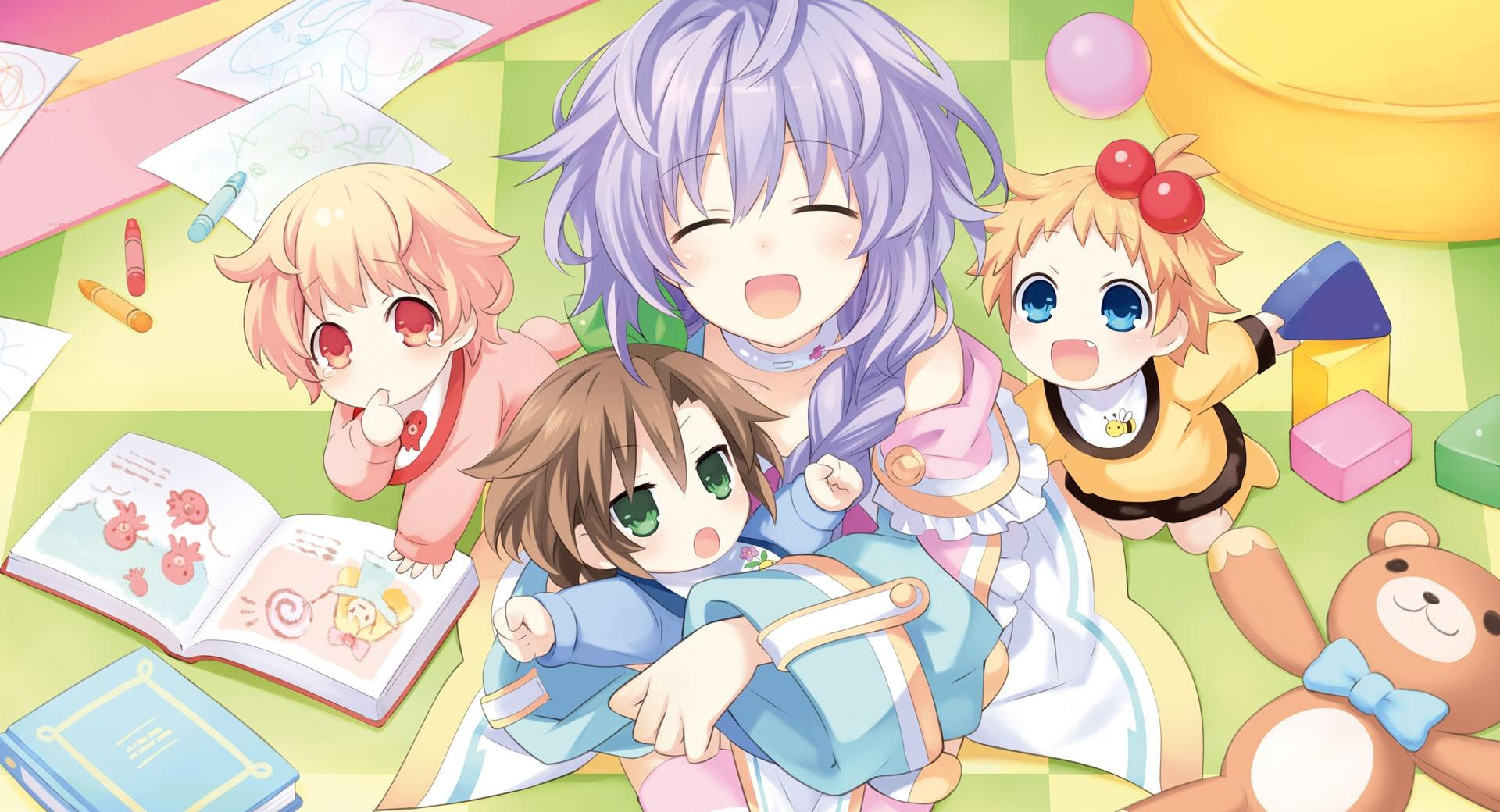 Plutia And Babies wallpapers HD quality