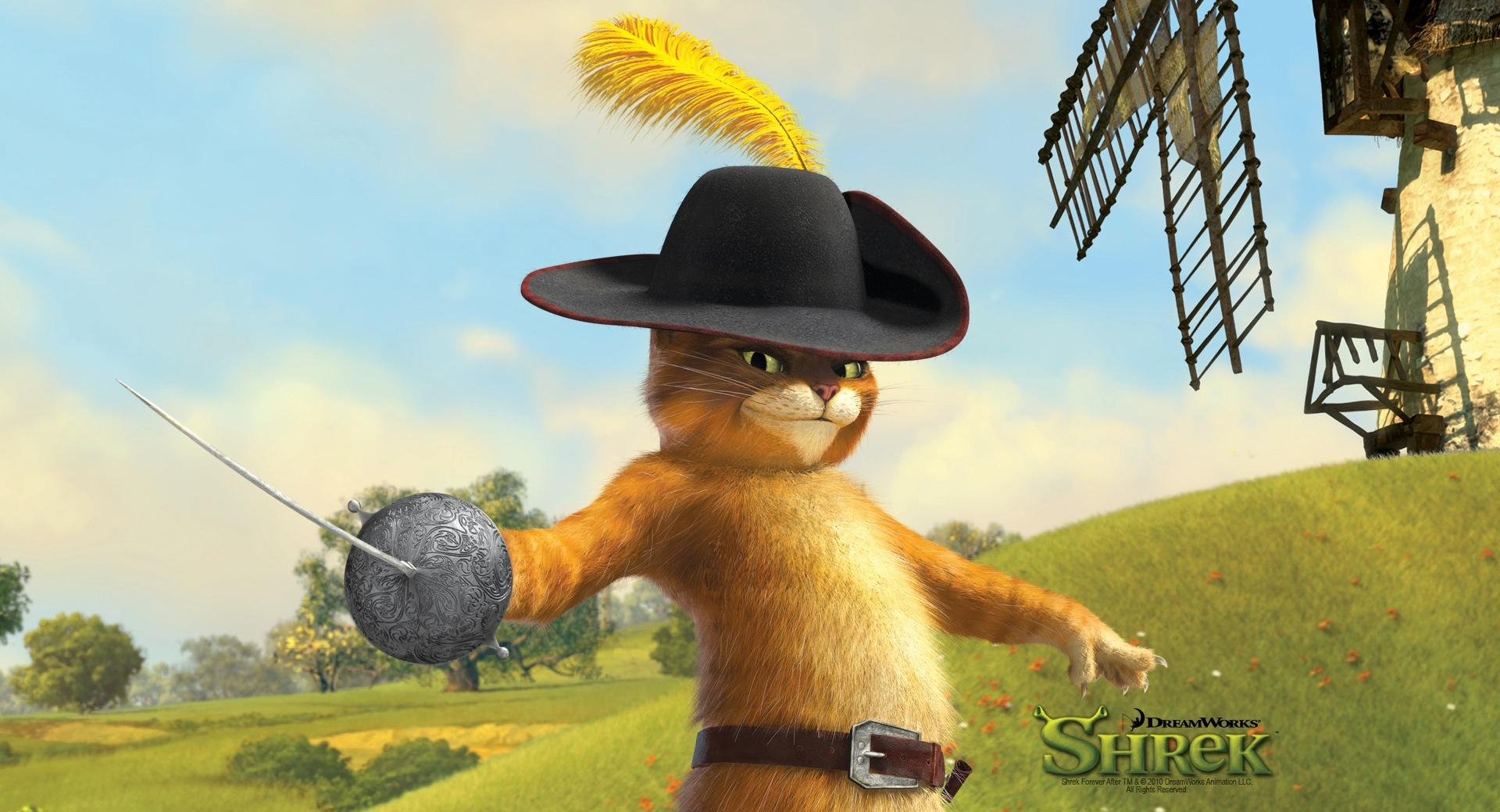 Puss in Boots, Shrek The Final Chapter wallpapers HD quality