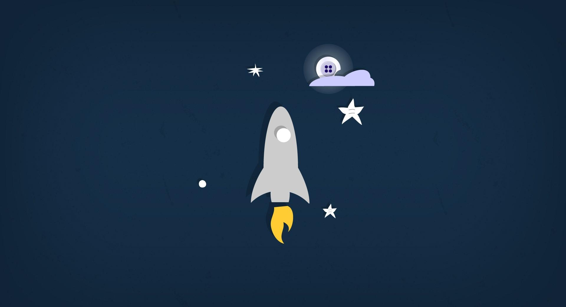 Rocket Button Moon wallpapers HD quality