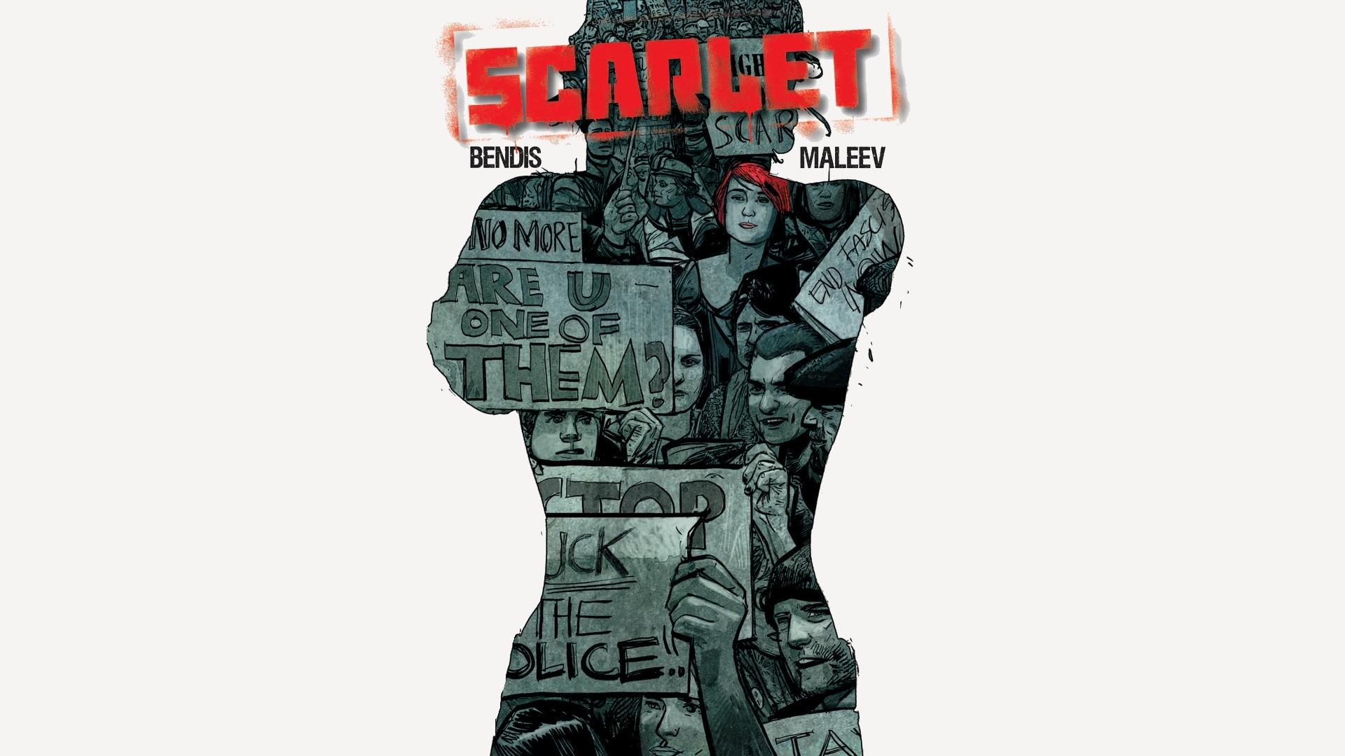 Scarlet Comics wallpapers HD quality