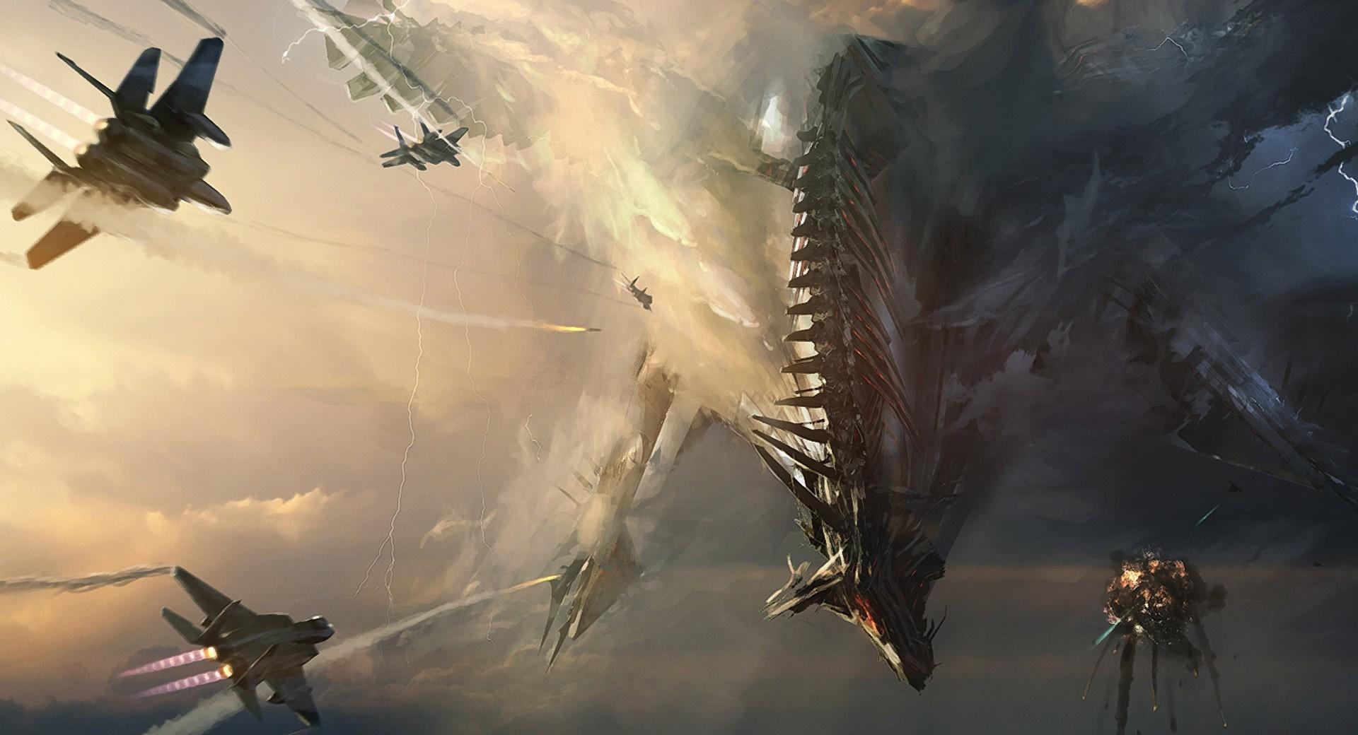 Sci-Fi Dragon wallpapers HD quality