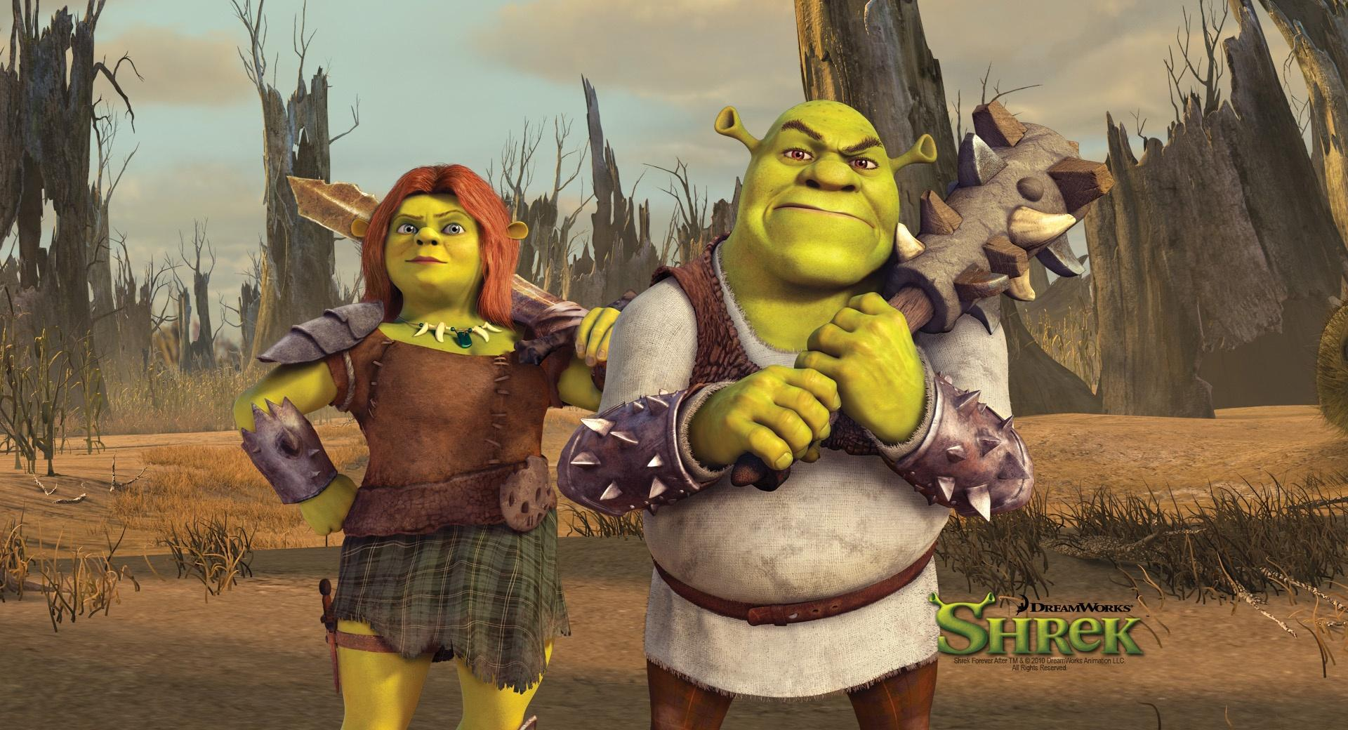 Shrek And Fiona, Shrek The Final Chapter wallpapers HD quality
