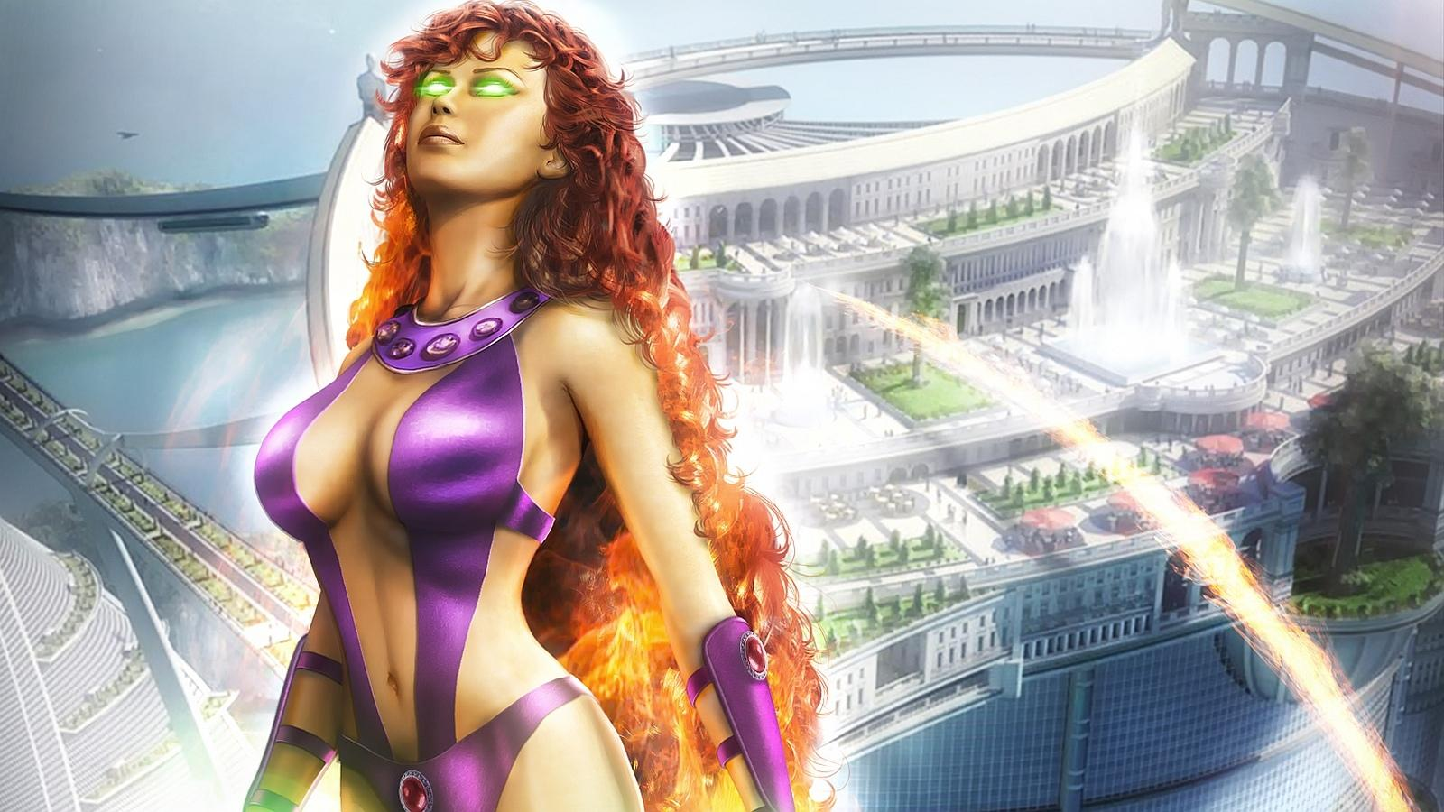 Starfire Comics wallpapers HD quality