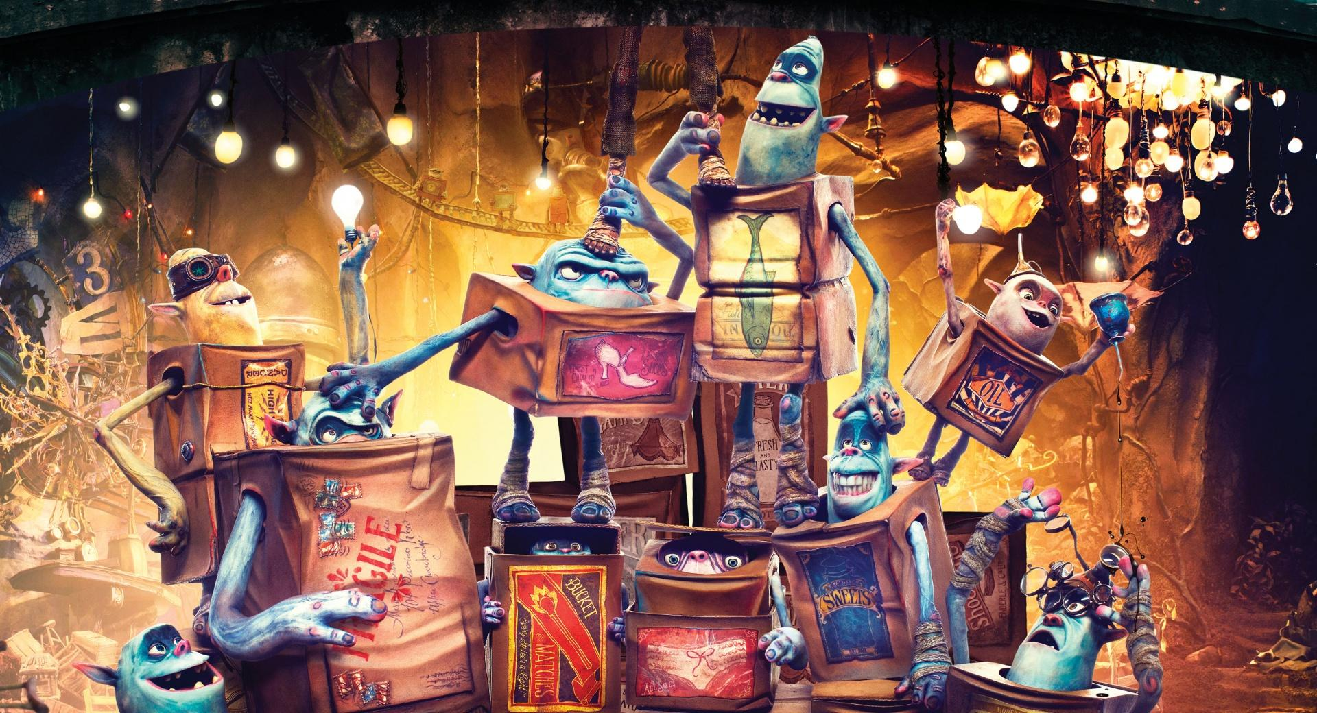 The Boxtrolls Characters 2014 Movie wallpapers HD quality