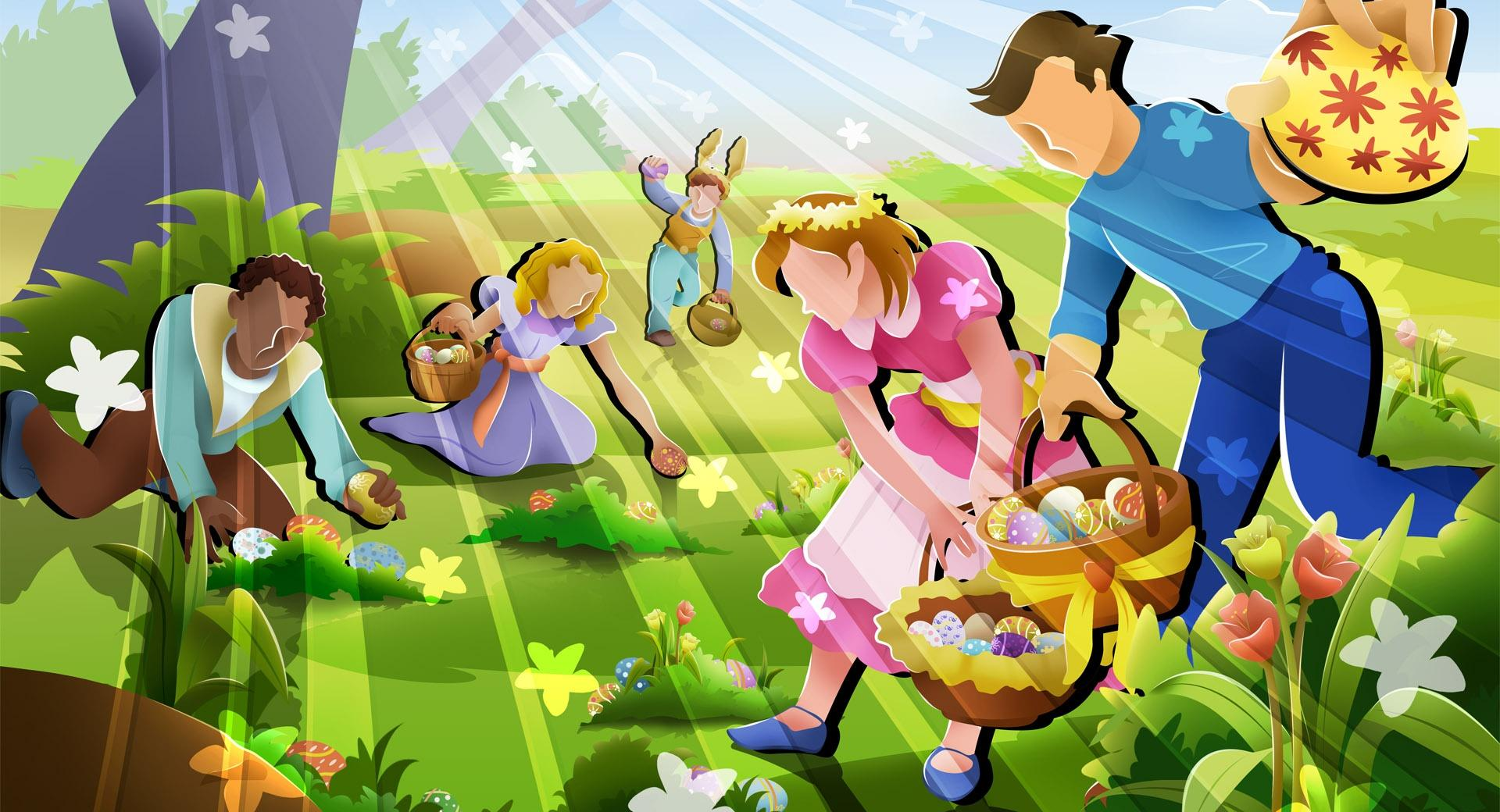 The Great Easter Egg Hunt wallpapers HD quality