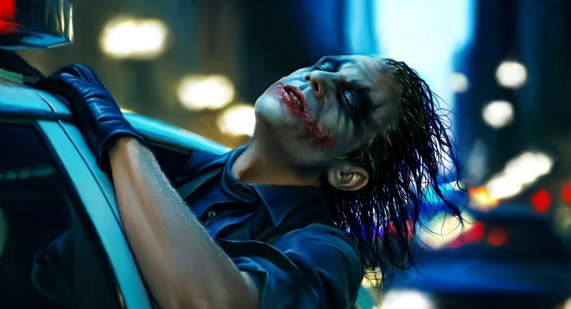 The Joker Painting Wallpaper HD Download
