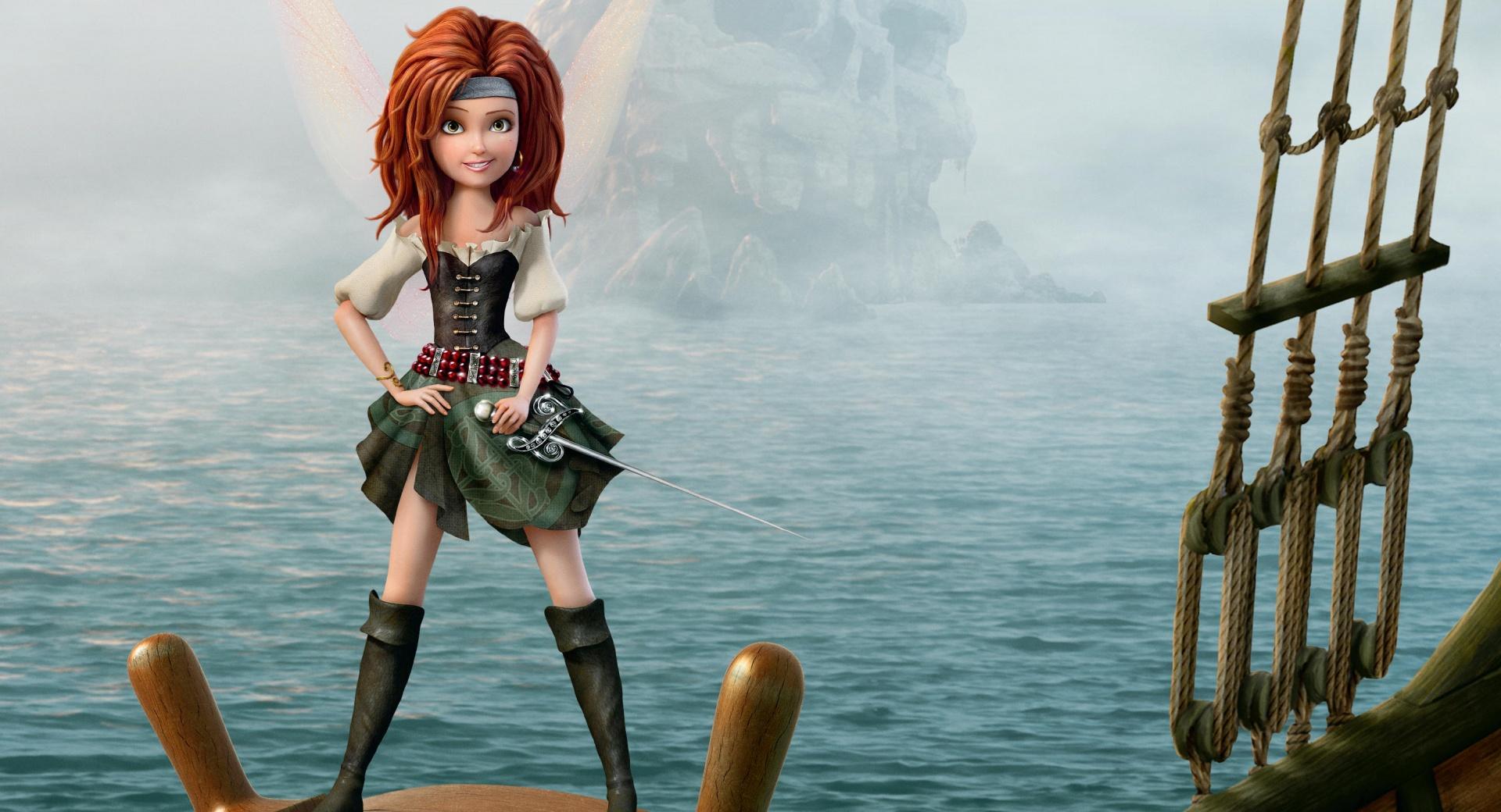 Pirate fairy zarina wig
