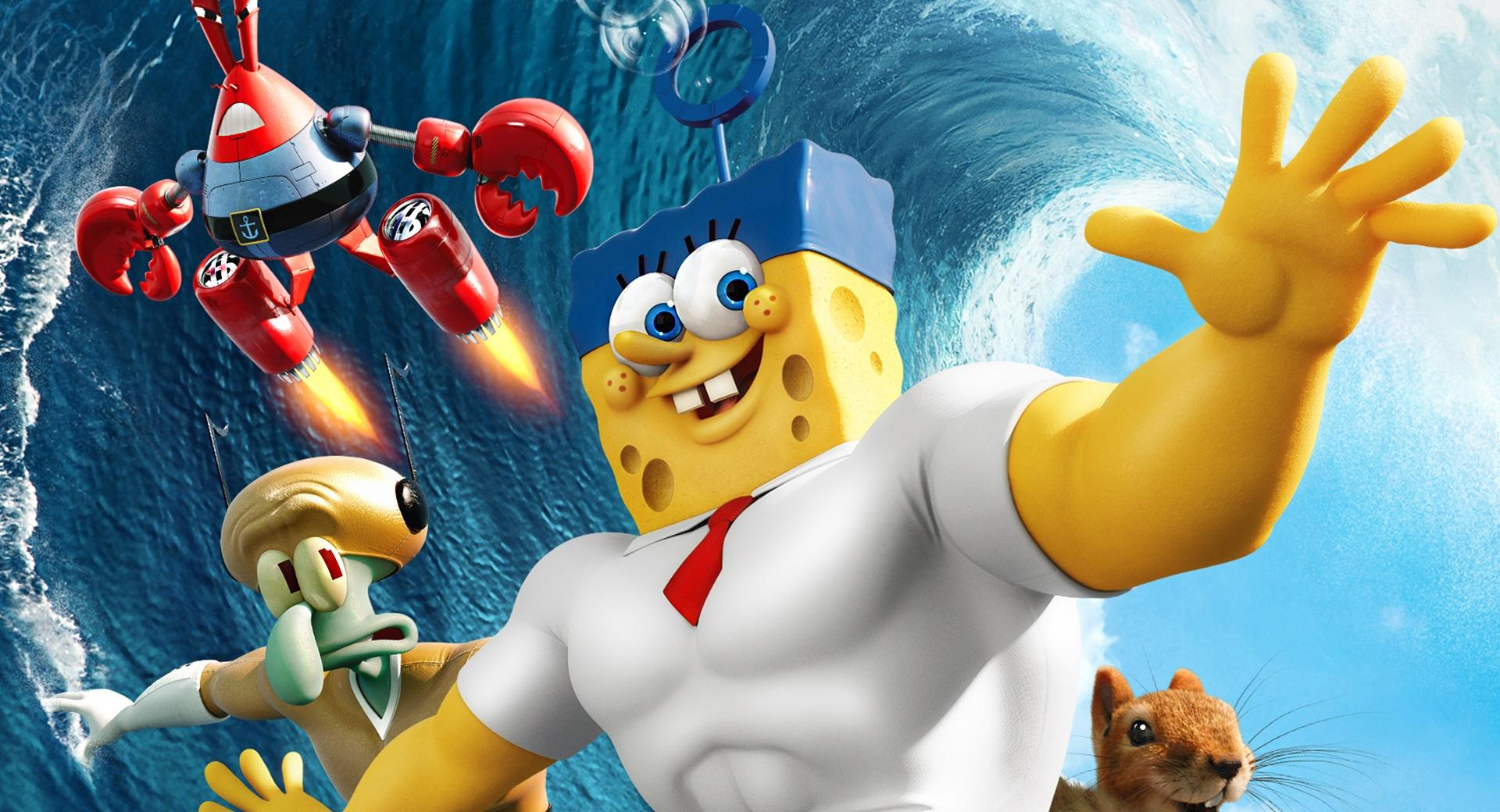 The SpongeBob Movie Sponge Out of Water 2015 wallpapers HD quality