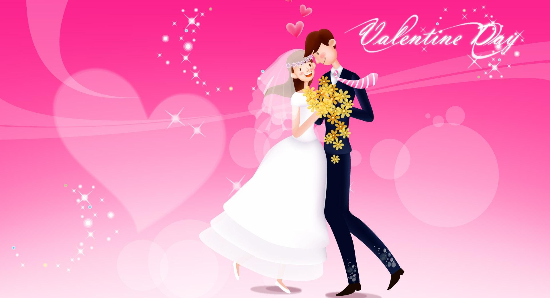 Valentines Day Wedding wallpapers HD quality